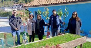 """Ancos Avezzano dona alberi di ciliegio al Sorriso di Christian: """"coltivare sogni e speranze di un futuro radioso"""""""
