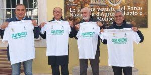 Il senatore Bagnai in visita a Lecce nei Marsi per la valorizzazione della Selva Unesco di Moricento e del geosito di bauxite