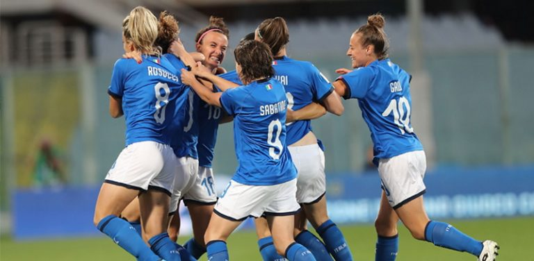 Nazionale Femminile di calcio: ingresso gratuito per Italia-Croazia a Castel di Sangro il 22 ottobre