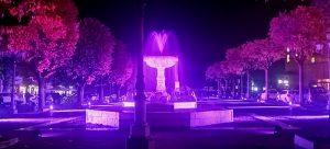 Celano si illumina di rosa per la Giornata di prevenzione del tumore al seno