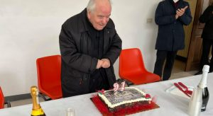 Civitella Roveto ha festeggiato i 91 anni del parroco don Franco Geremia
