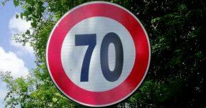 Limite di velocità di 70 km/h fuori dai centri abitati sulla SP 127, in particolare nel tratto Trasacco-Collelongo