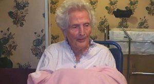 Compie oggi 112 anni Maria Antonia D'Amore di Cerchio, la donna più longeva d'Abruzzo