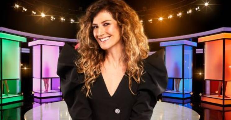 La marsicana Nina Palmieri conduce il controverso programma TV Naked Attraction Italia