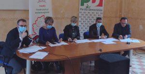 Fucino, centro fieristico e ospedale: temi al centro della conferenza stampa del PD ad Avezzano