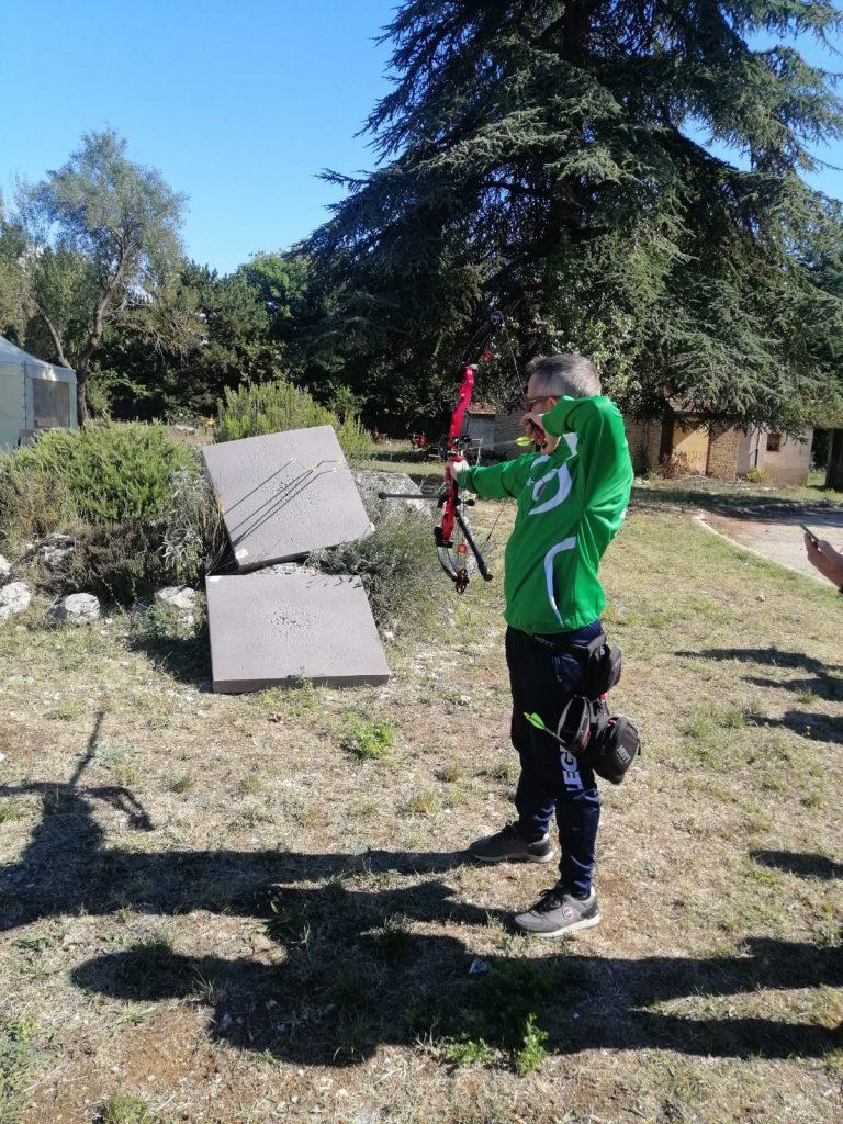 Istituto Agrario Serpieri, il vice campione italiano di para archery Antonio Del Fosco e l'allenatore paralimpico Giuseppe Marascia incontrano gli studenti