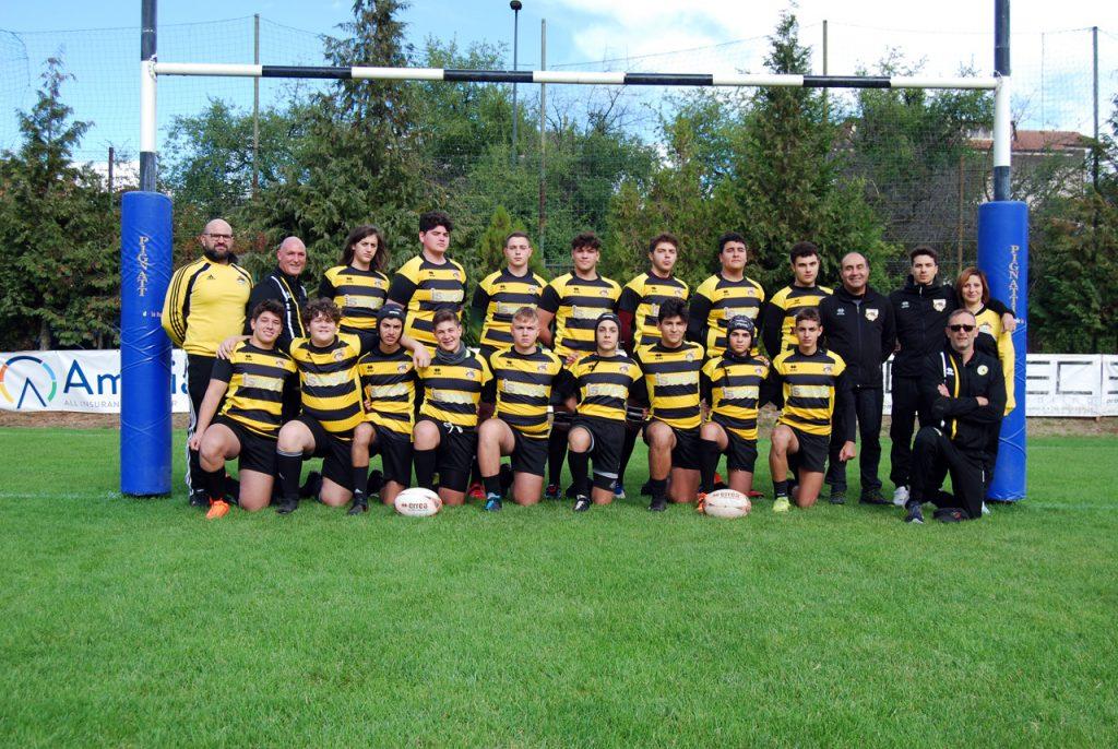 Vittoria travolgente per l'under 19 dell'ISWEB Avezzano Rugby: 106 a 5 contro il Sulmona