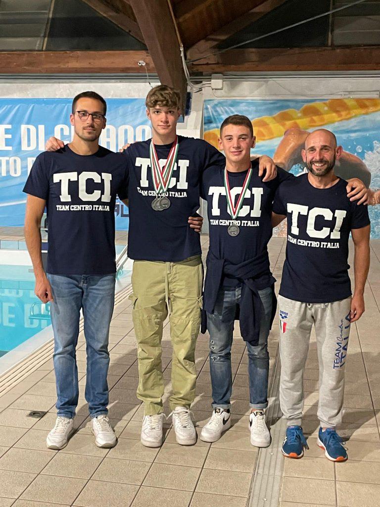 Grande festa al Palasport di Celano per il Team Centro Italia Nuoto
