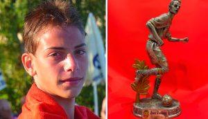 L'ASD San Benedetto V. dedica la vittoria al bomber Vincenzo Zauri scomparso per un incidente nel 2013